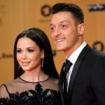 Mandy Capristo with Ozil