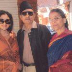 Manisha and her parents