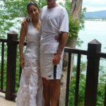 Manisha with her boyfriend Christopher