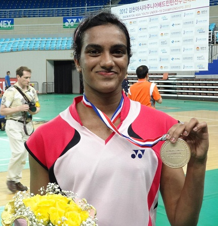 P.V.Sindhu