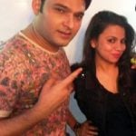 Preeti Simoes with Kapil Sharma