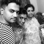 Rocky Jaiswal with his family