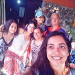 Sapna Pabbi with her family