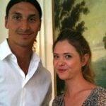 Selma with his brother Zlatan Ibrahimovic