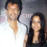 Shahana Goswami with her Ex-boyfriend Milind Soman