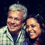 Shahana Goswami with her father