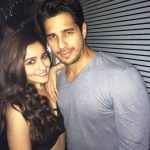 Sidharth Malhotra With His Ex-Girlfriend Alia Bhatt