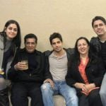 Sidharth Malhotra With His Family