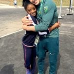 Simone with her boyfriend Arthur Nory Mariano