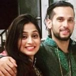 Soumya Seth with her fiance
