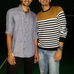 Srikanth Kidambi with his elder brother, Nandagopal Kidambi