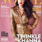 Twinkle Khanna on Vogue