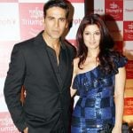 Twinkle Khanna with her husband Akshay Kumar