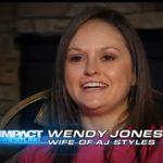 Aj Styles wife Wendy Jones