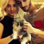 Zayn Malik with Perrie Edwards