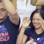 Proud parents of Laurie Hernandez
