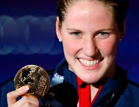 Missy Franklin and glory!