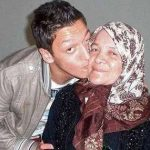 Ozil with his Mother