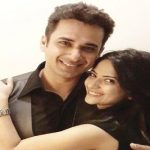 Aditi Sharma with her husband