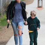 Alex Nation with her son, Elijah