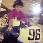 Alisha Abdullah childhood photo