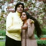 Amitabh Bachchan with Rekha