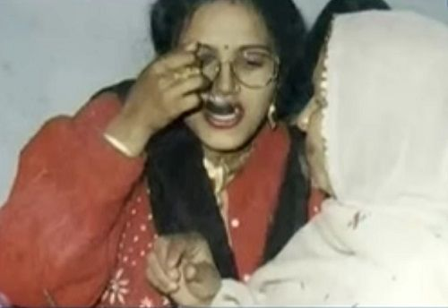 An Old Picture of Radhe Maa