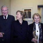 Angela Merkel with her Parents