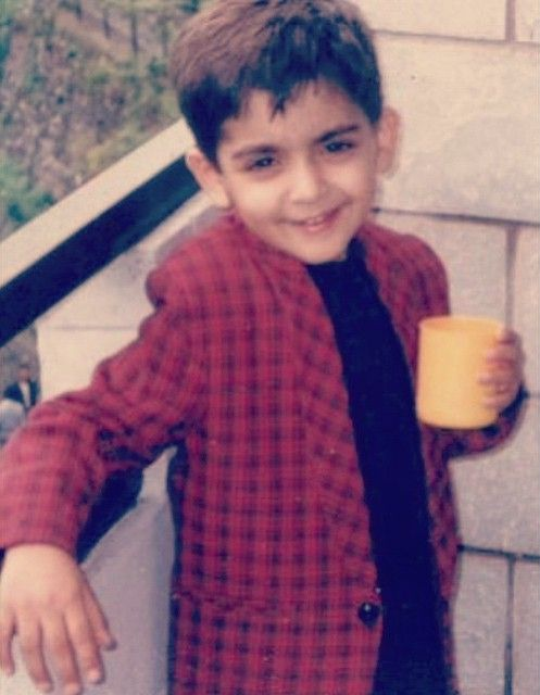 Arjit Taneja in childhood