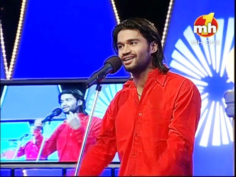 Balraj Syal as a Contestant in The Great Punjabi Comedy Show