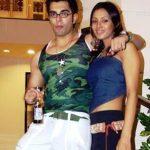 Barkha Bisht with her ex-boyfriend Karan Singh Grover