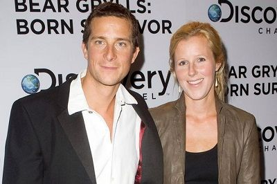 Bear Grylls with wife, Shara Grylls