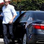Ben affleck with Mercedes-Benz S63 AMG