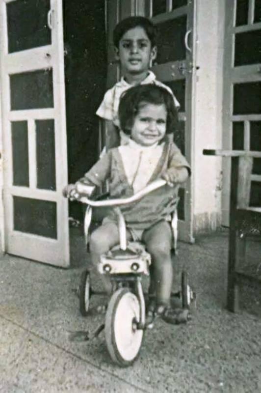 Deepa Malik with Her Brother