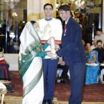 Devendra Jhajharia with Padma Shree