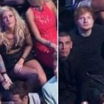 Ed-Sheeran and Ellie Gouldingat MTv Music Award