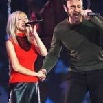 Enrique iIglesias and Christina Aguilera