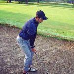 Harman Virk playing golf