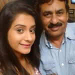 Hiba Nawab with her Father