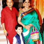 Indira Krishnan with her family