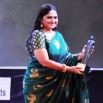Indira Krishnan won Best Actress Female TV award