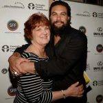 Jason Mamoa with his Mother Coni Momoa