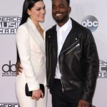 Jessie J with her boyfriend Luke James