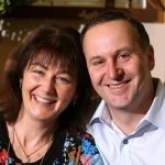 John Key with his wife Bronagh Key