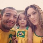 Jose Aldo daughter Joanna Aldo