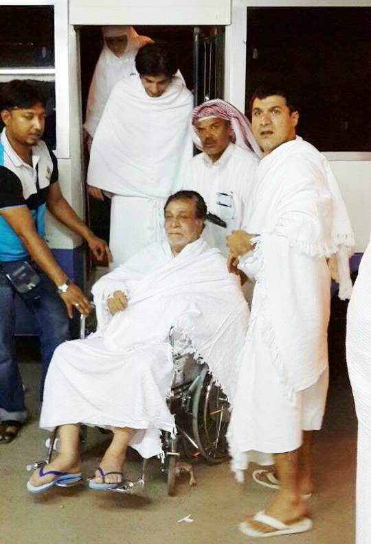 Kader Khan In Makkah For Hajj Pilgrimage