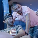 Karim with his brother Gressy