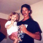 Kayla Reid with her father