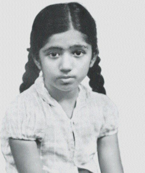 Lata Mangeshkar's Childhood Photo