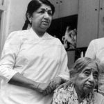 Lata Mangeshkar With Her Mother